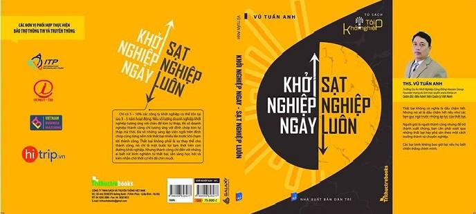 sach khoi nghiep ngay sat nghiep luon Cuốn sách kHởi nghiệp ngay, sạt nghiệp luôn
