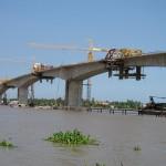 Dự án thi công cầu Hàm Luông   Cày Bắc   Tp.Bến Tre